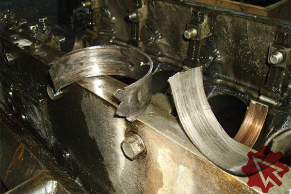 Что делать провернуло вкладыши в двигателе